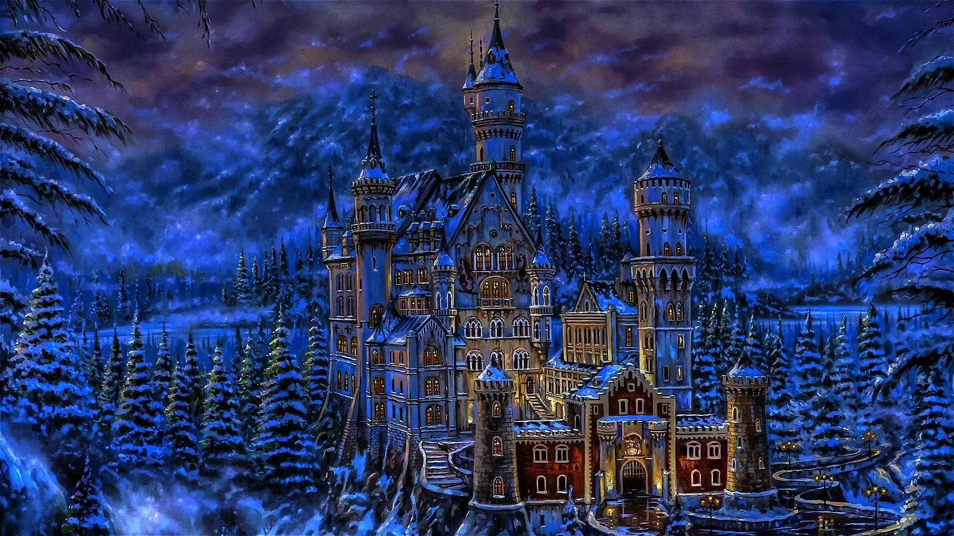 Fantasy Castles wallpaper   633139 1920x1080