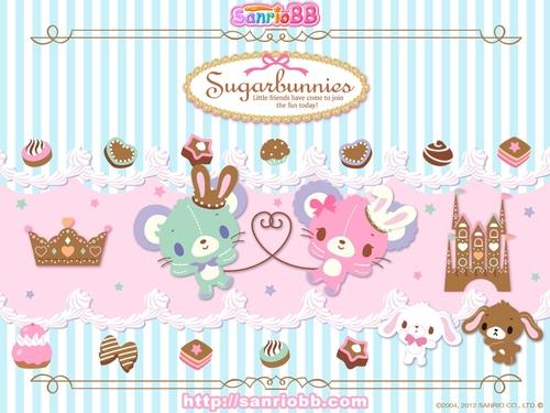 Wallpapers Sugar Bunnies vol 02   Le Coin Kawaii 500x375