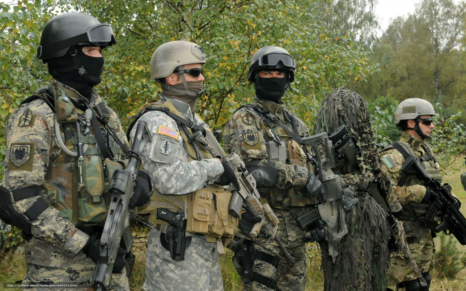 wallpaper army Special Forces Soldiers infantry desktop 1600x1000