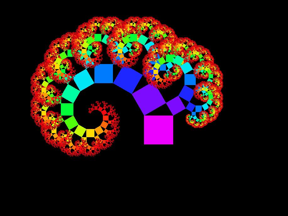 Pythagoras tree coloured 2nd by Alcandoras 918x688