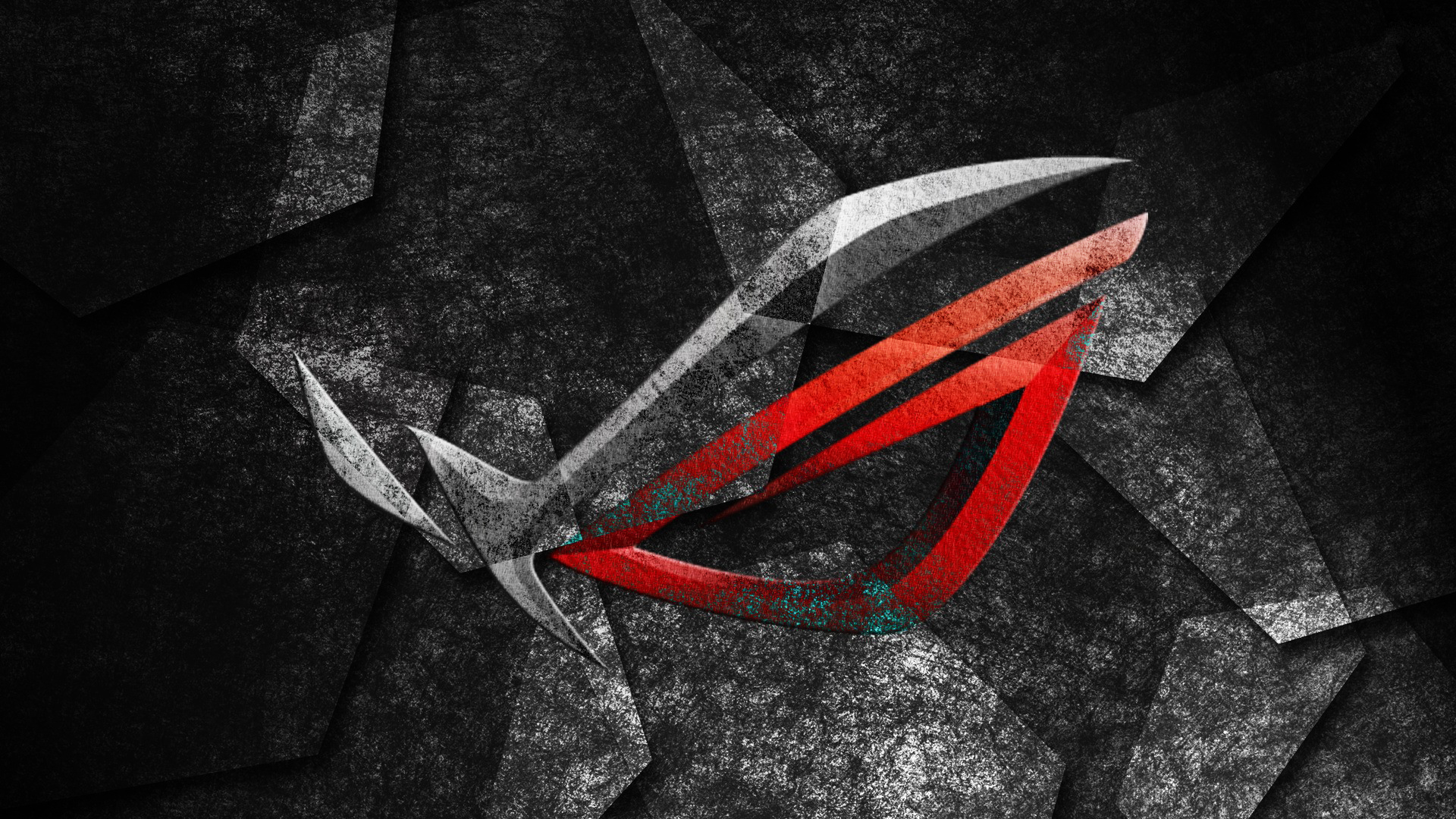 asus rog republic of gamers logo hd 1920x1080 1080p wallpaper and 1920x1080