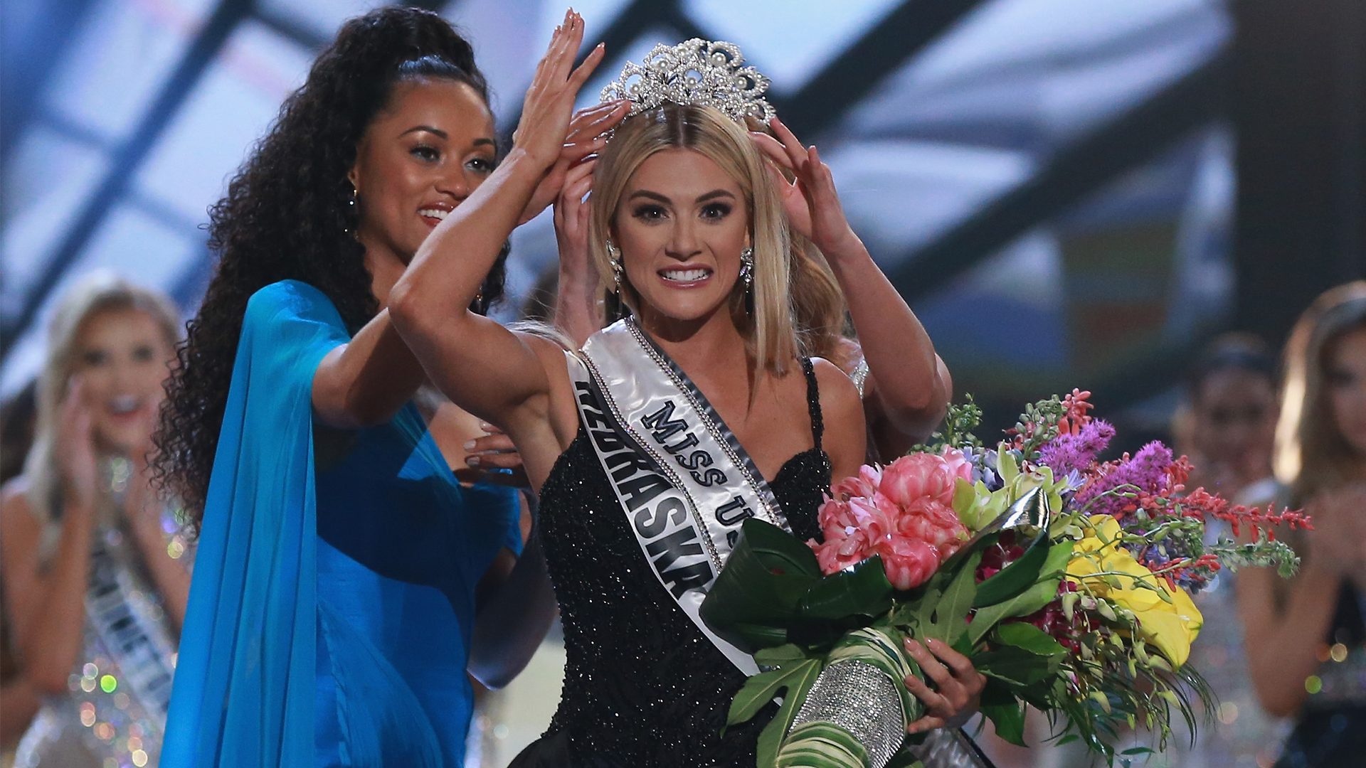 Miss Nebraska Sarah Rose Summers Wins Miss USA 2018 Telemundo 1920x1080