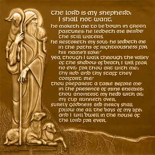 Psalm 23 Art 23rd psalm 500x500