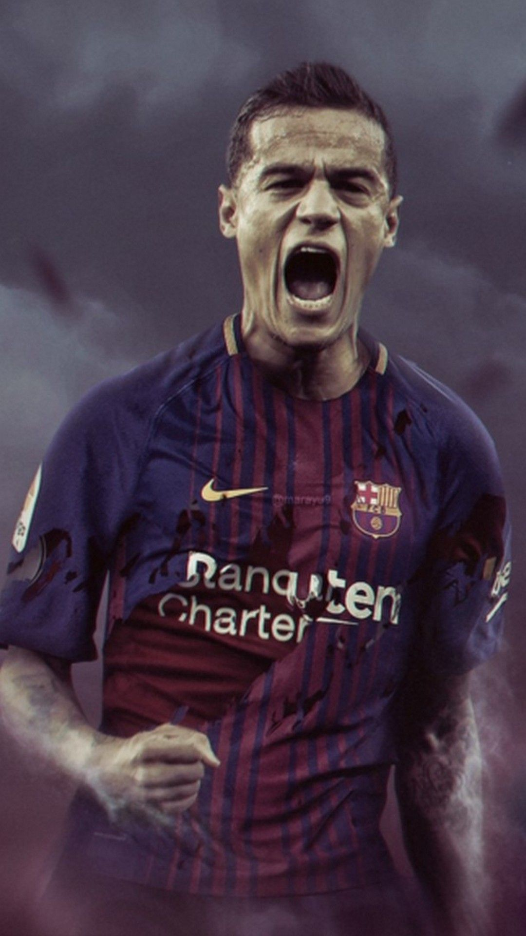 Coutinho Barcelona Wallpaper For iPhone iPhoneWallpapers 1080x1920