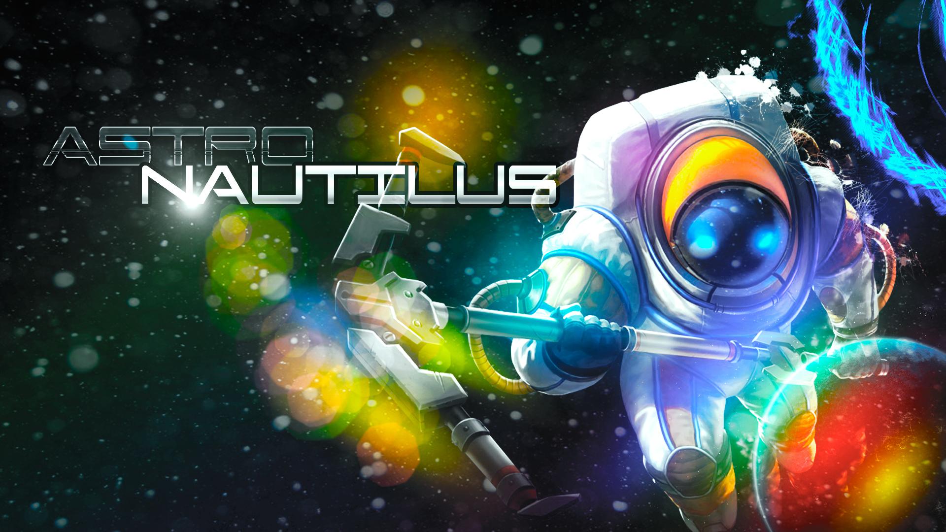 Astro Nautilus Wallpaper Full HD by pedrovovp 1920x1080