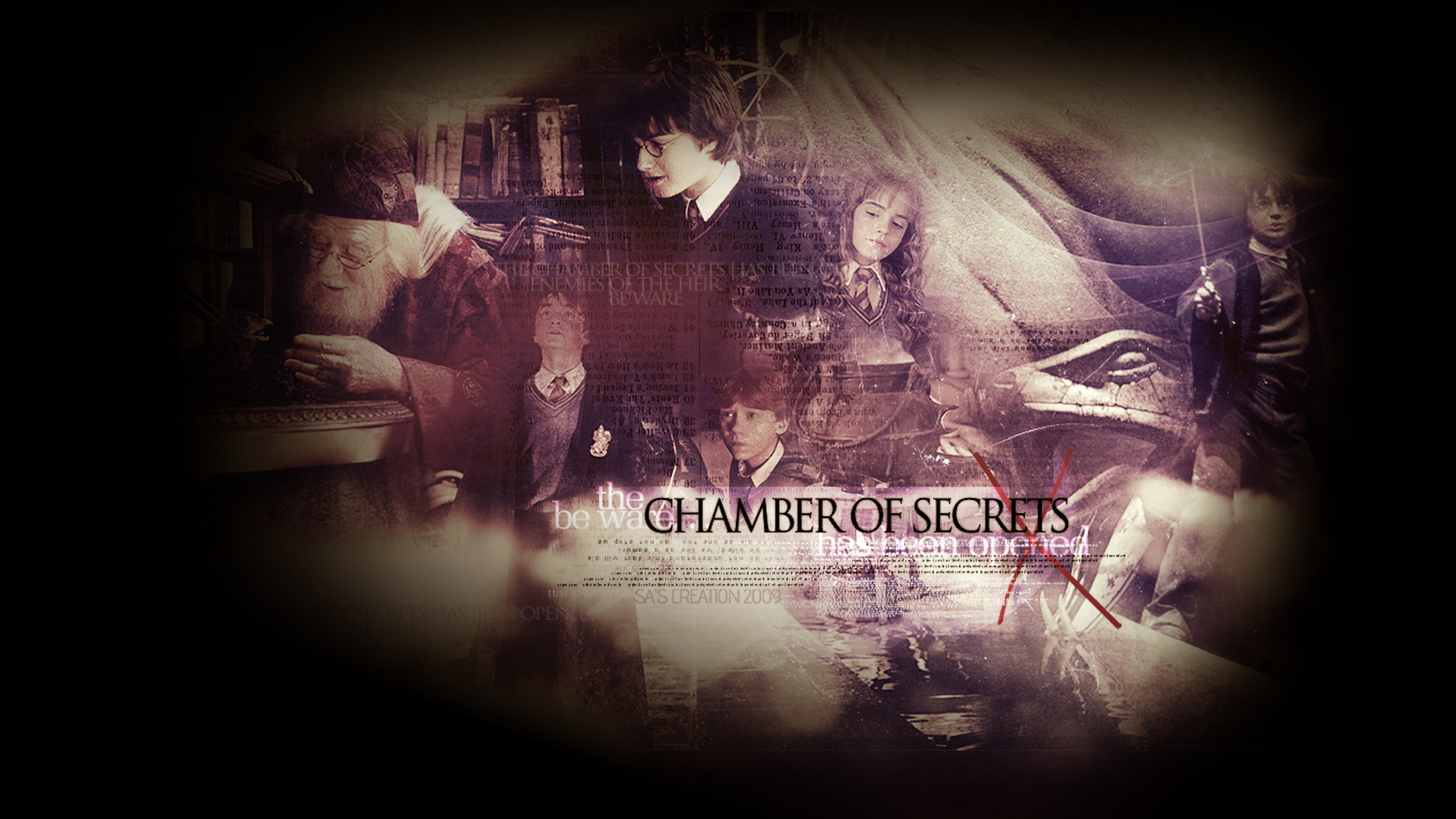 Chamber of Secrets   Harry Potter Wallpaper 35527946 1920x1080