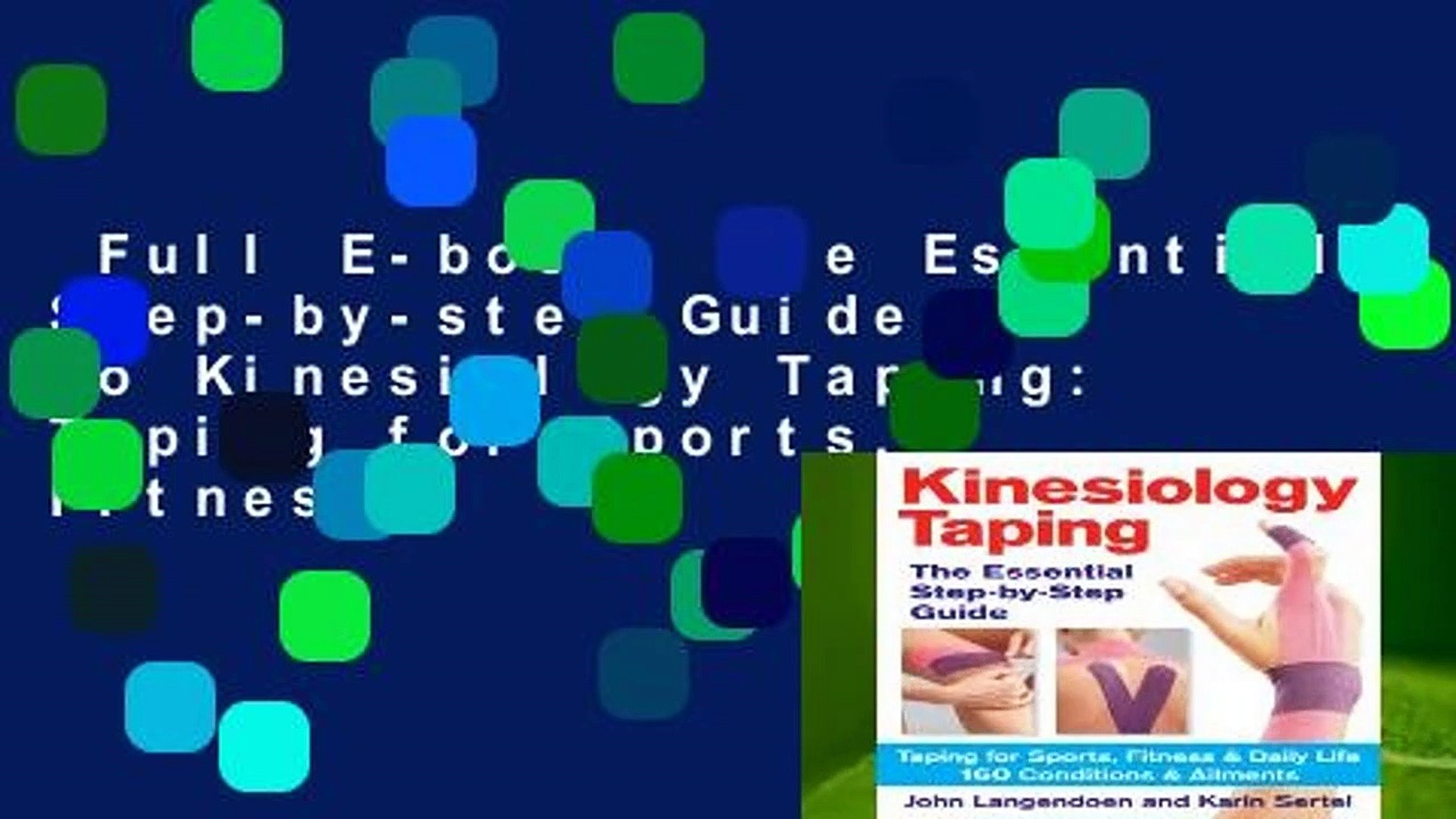 Full E book The Essential Step by step Guide to Kinesiology Taping 1920x1080