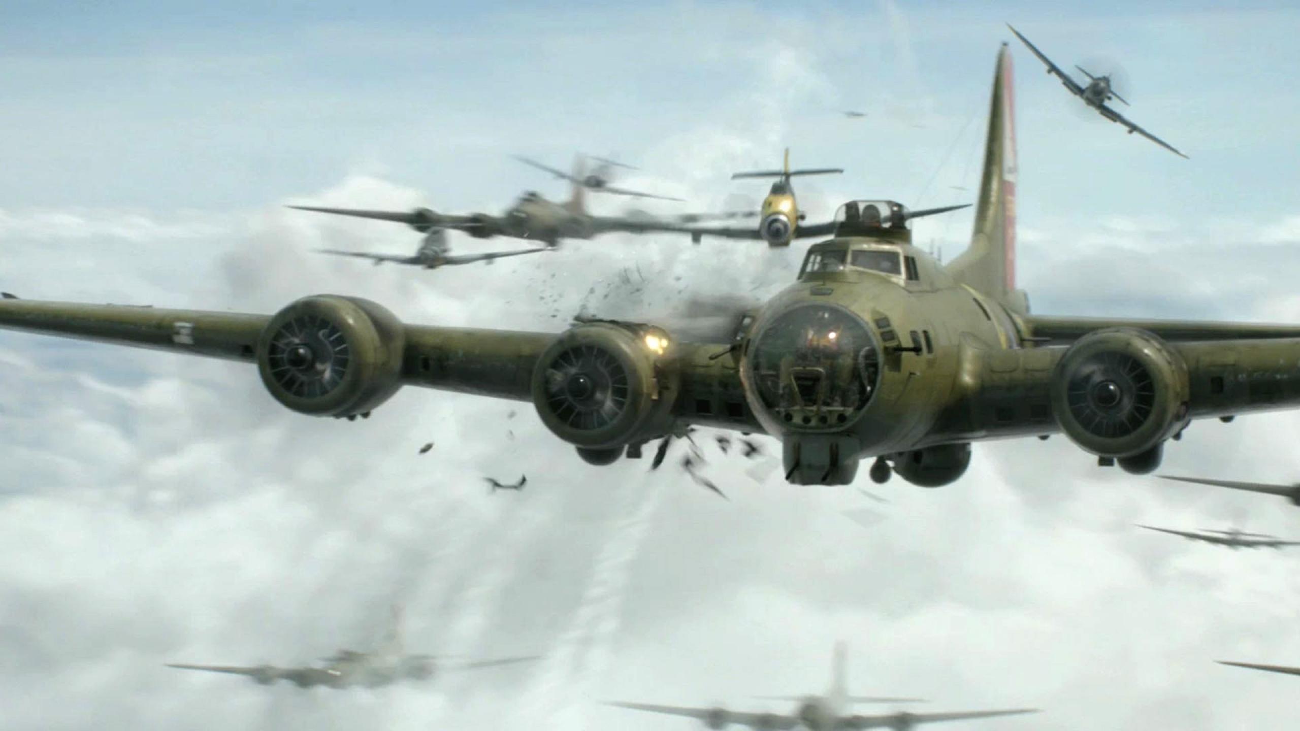 bomber world war ii b17 flying fortress mission 1920x1080 wallpaper 2560x1440