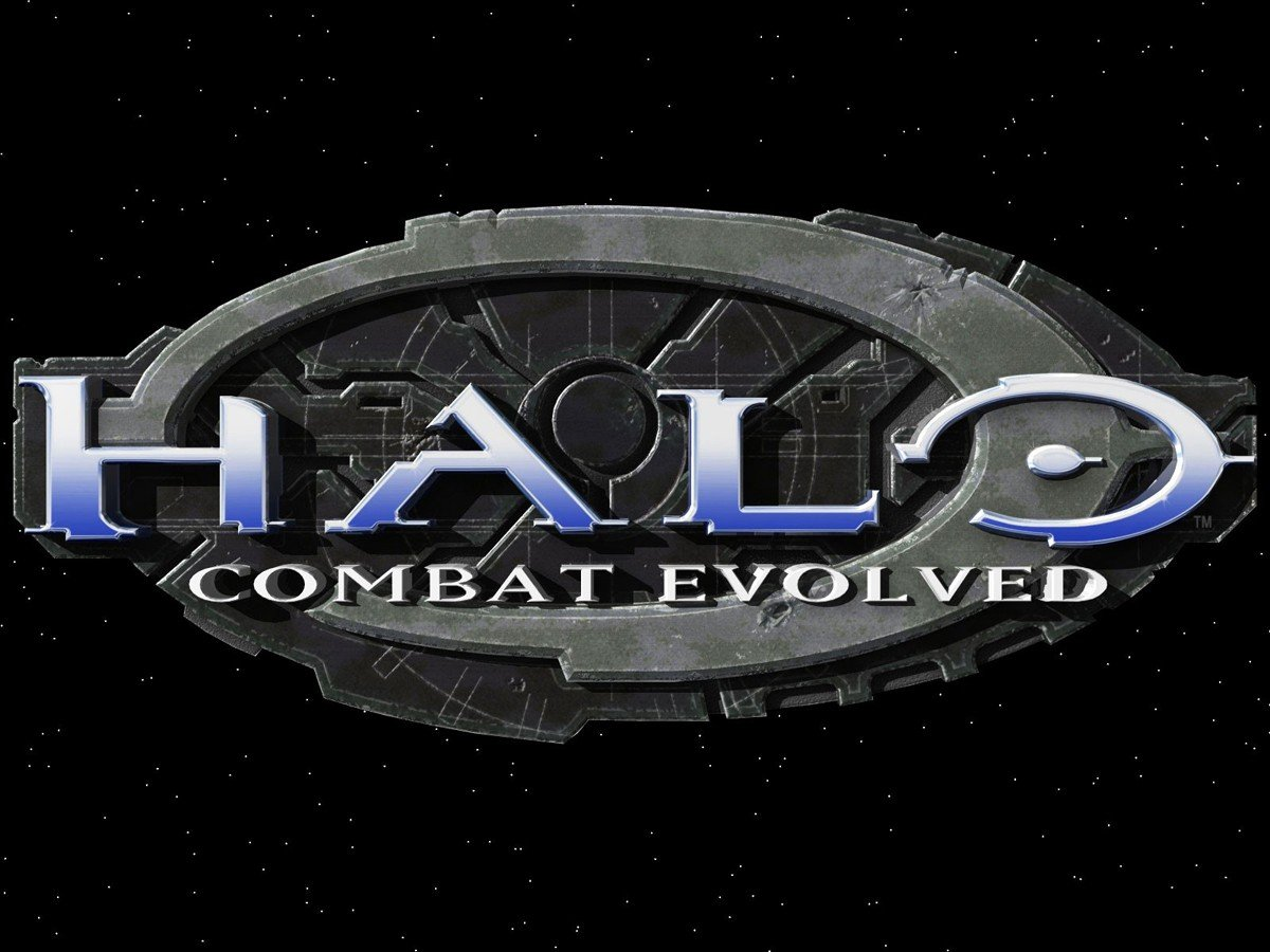 Halo 1 Combat Evolved Logo Wallpaper 1200x900