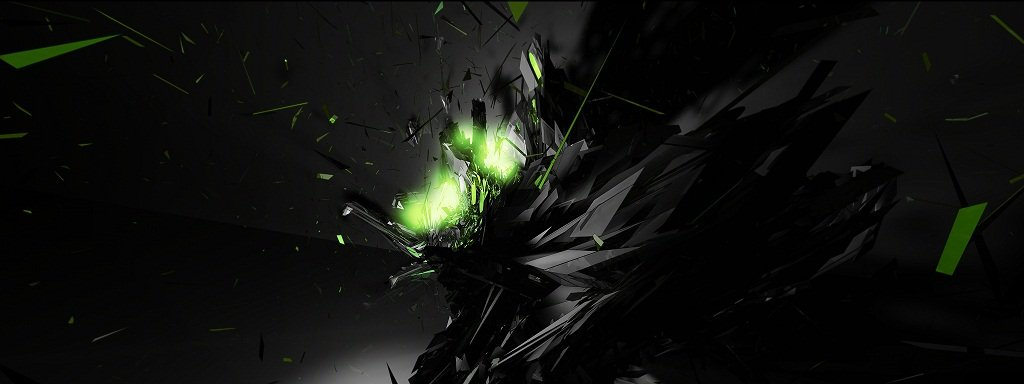 Toxic Abstract HD Wallpaper 1080p   HD Dock 1024x384