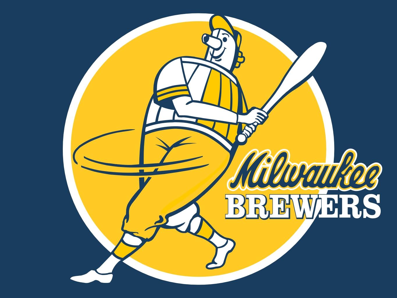 Milwaukee Brewers Wallpaper Border