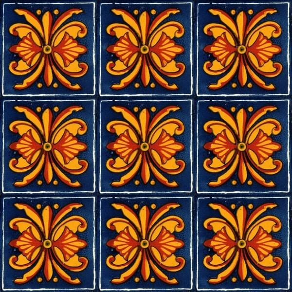 Mexican Tile Pattern Tile pattern 01 jpg 600x600