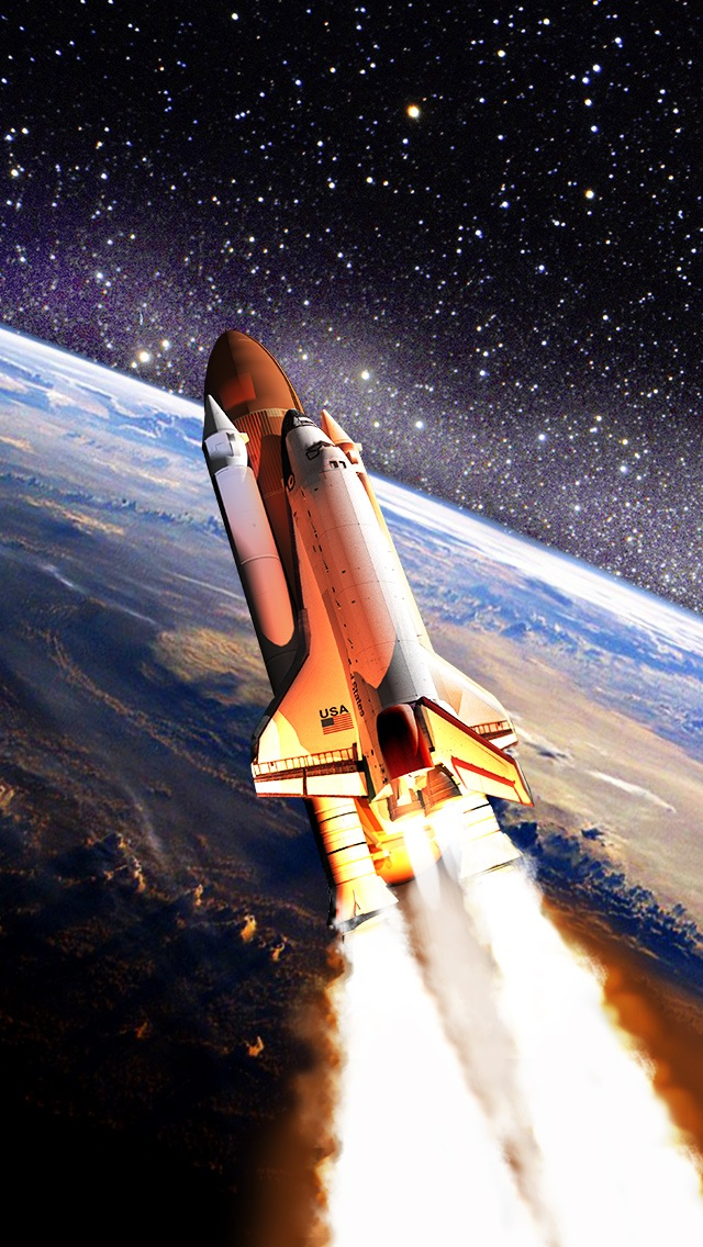 Space Shuttle Wallpaper   iPhone Wallpapers 640x1136