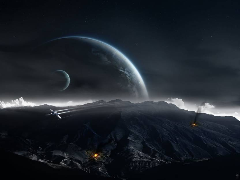 50 Star Wars Backgrounds Space Landscape On Wallpapersafari