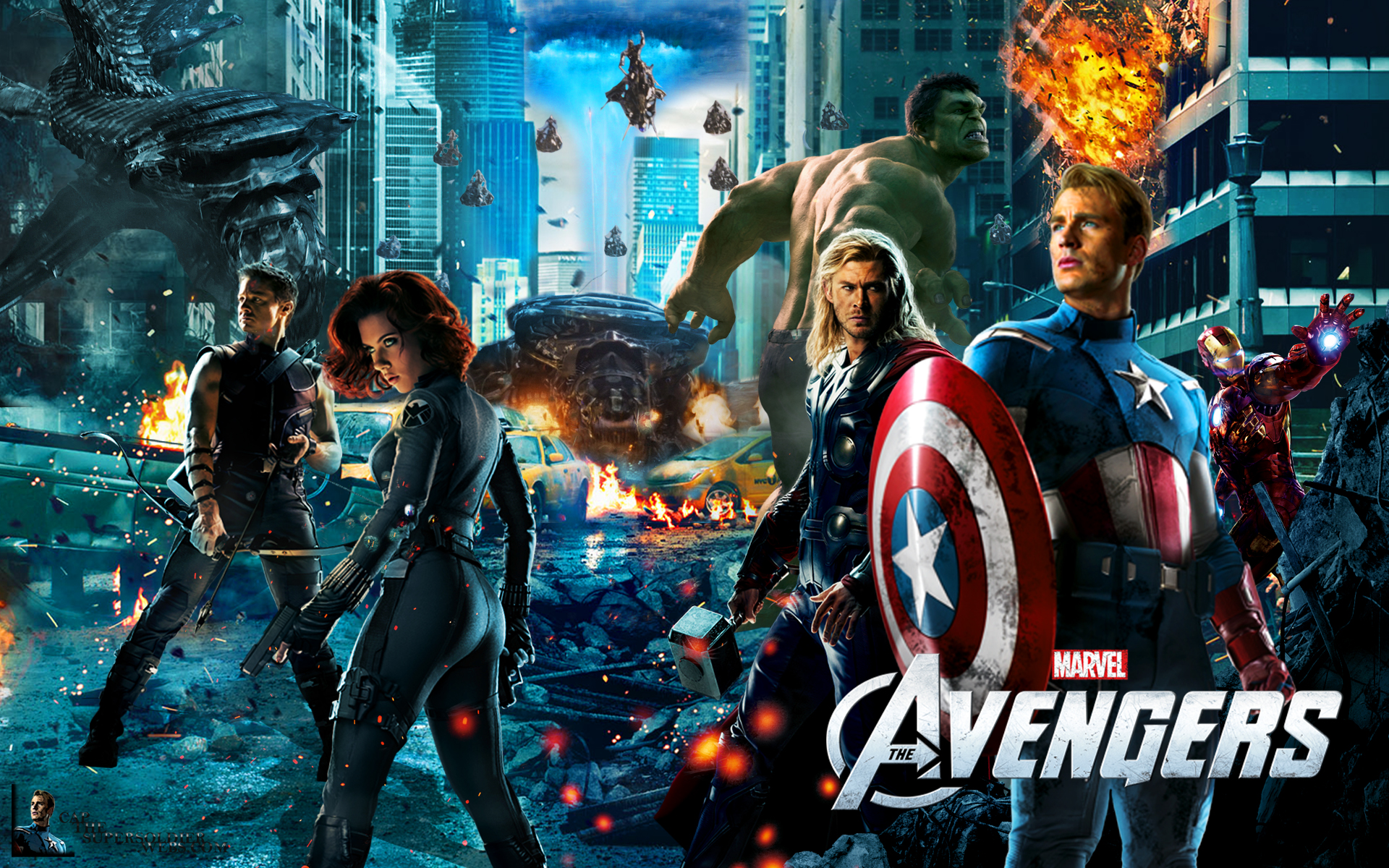 The Avengers   Wallpaper by capthesupersoldier 1920x1200
