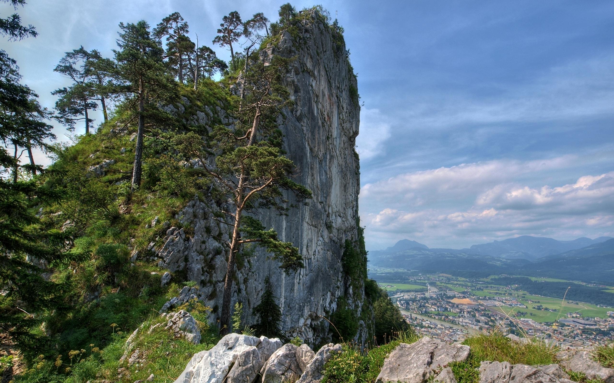 природа горы деревья скалы небо nature mountains trees rock the sky  № 379257 бесплатно