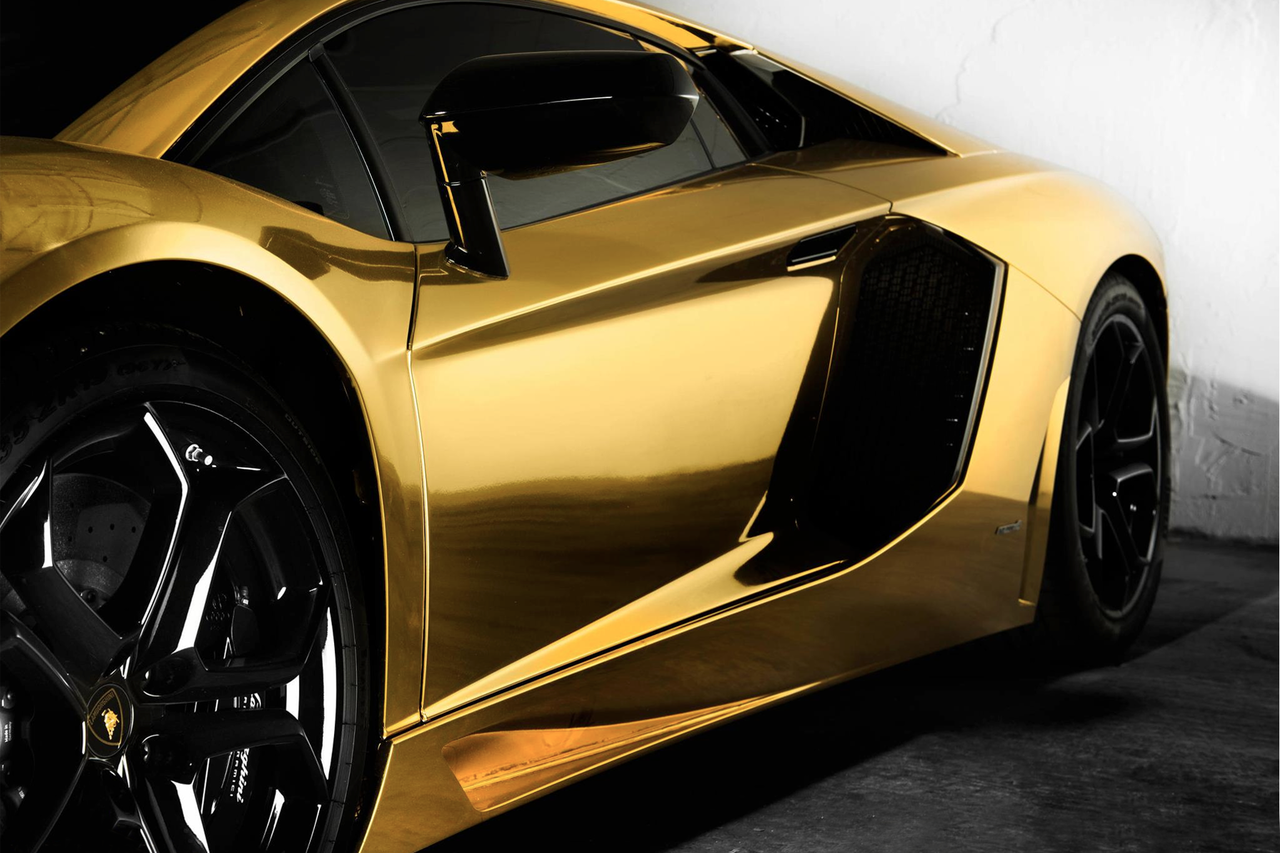 chrome gold car wallpaper - photo #30