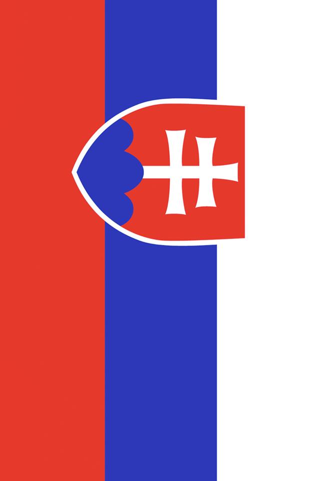 Slovakia Flag iPhone Wallpaper HD 640x960