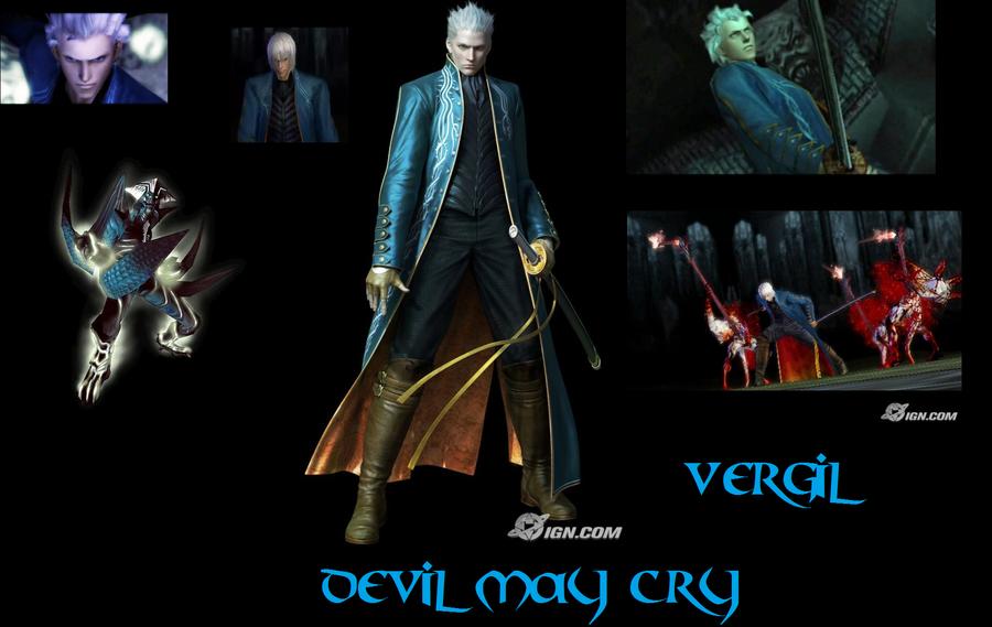 Vergil Yamato Sword Hd Wallpaper: Devil May Cry Vergil Wallpaper