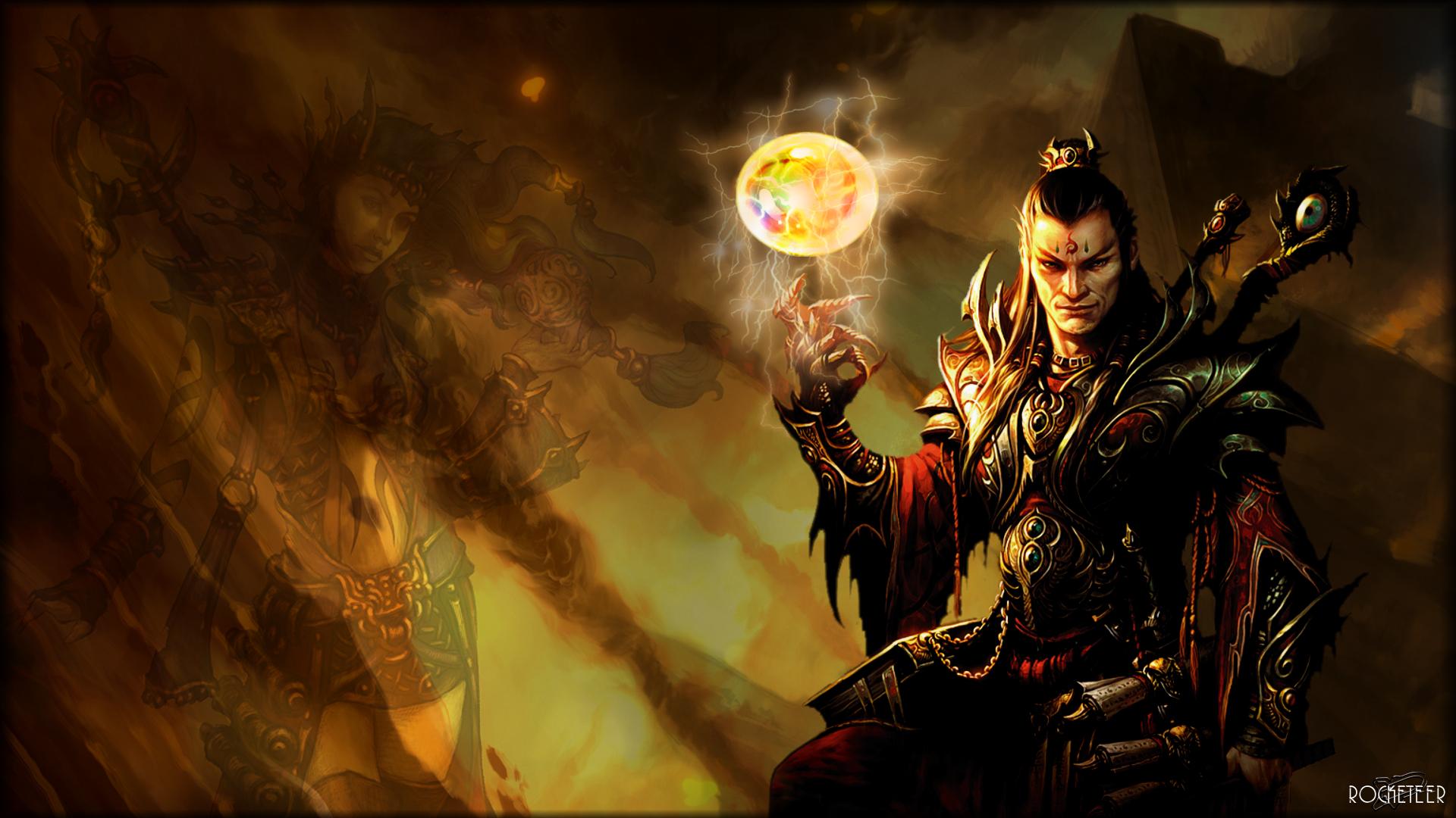 49+] Diablo 3 Wizard Wallpaper on WallpaperSafari