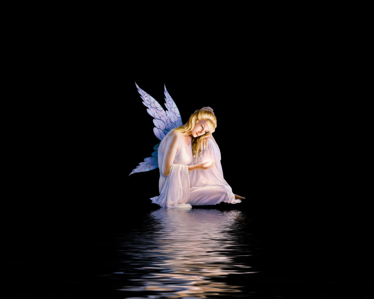 in the Dark Angel Background Wallpapers Angel Background Wallpapers 1280x1024