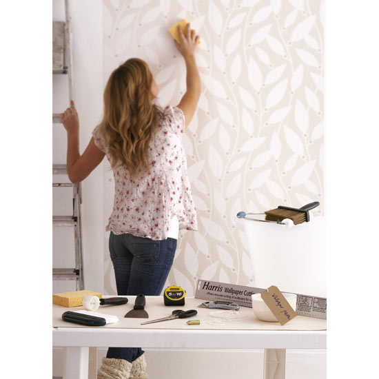Consider wallpapering or wallpapering tips 550x550