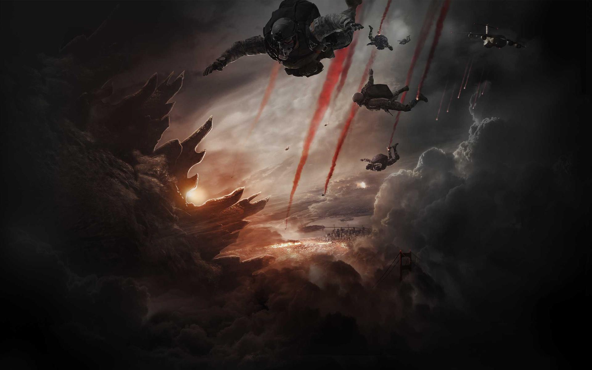 Godzilla 2014 Movie Wallpapers HD Wallpapers 1920x1200