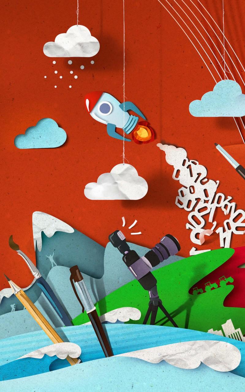 Creativity HD wallpaper for Kindle Fire HD   HDwallpapersnet 800x1280