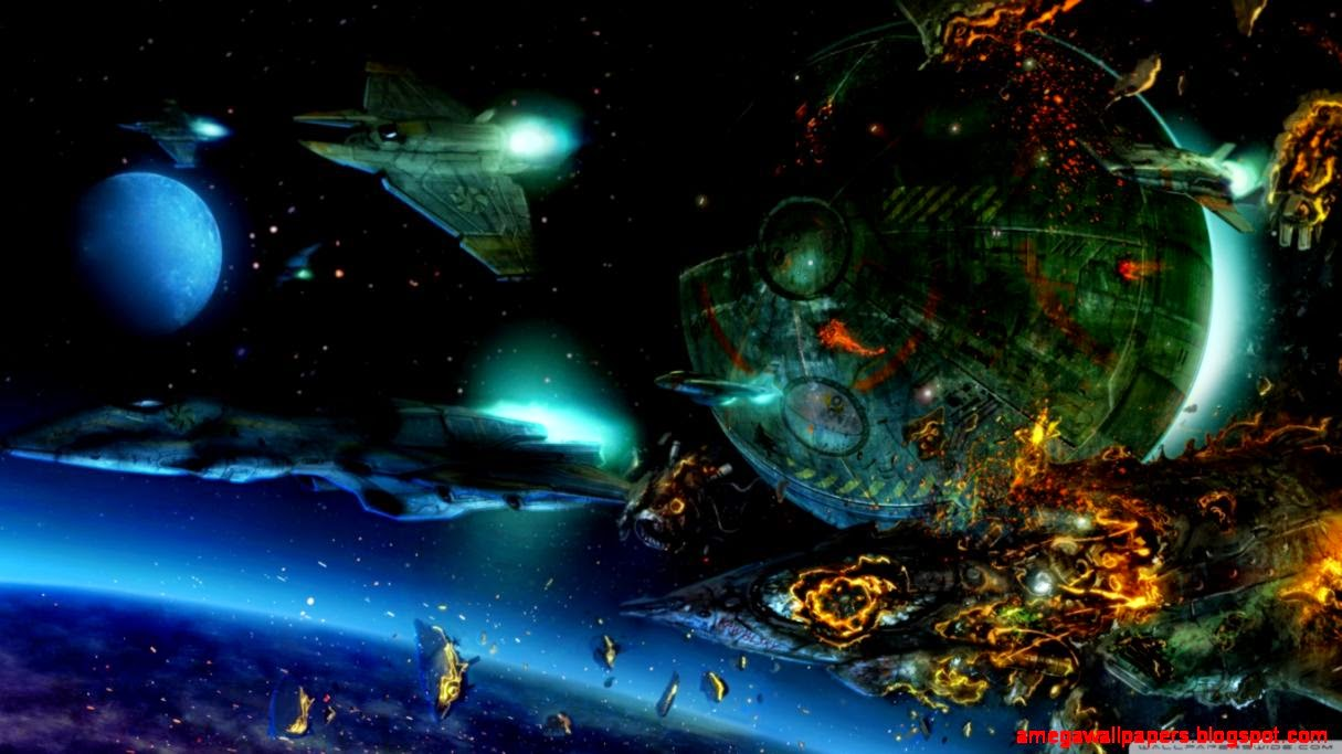 3D Space War Fantasy Wallpaper Hd Mega Wallpapers 1215x683