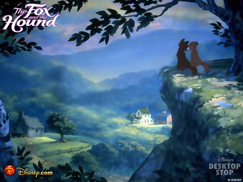 Free Download Fox And The Hound Wallpaper Fox And The Hound
