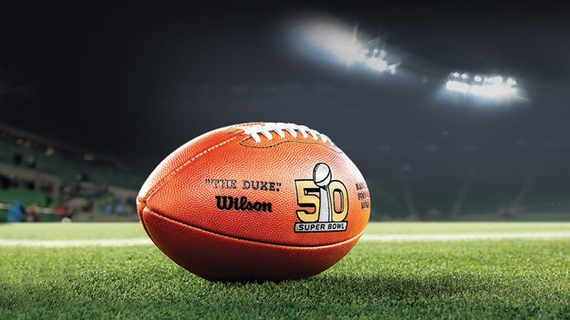 Super Bowl 50 Logo Football click to enlarge this official Superbowl 800x450