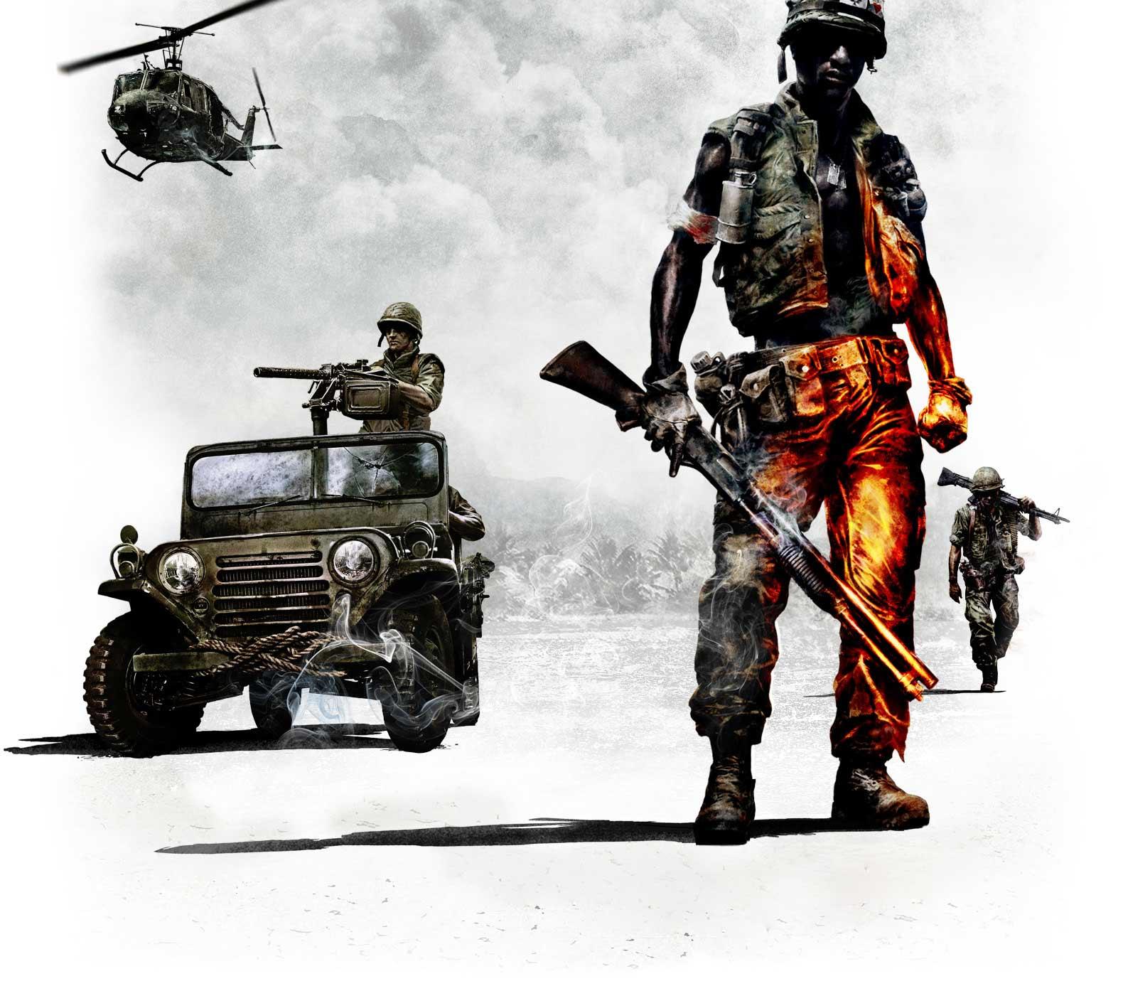 HQ Battlefield Bad Company 2 Vietnam Wallpaper   HQ Wallpapers 1580x1380