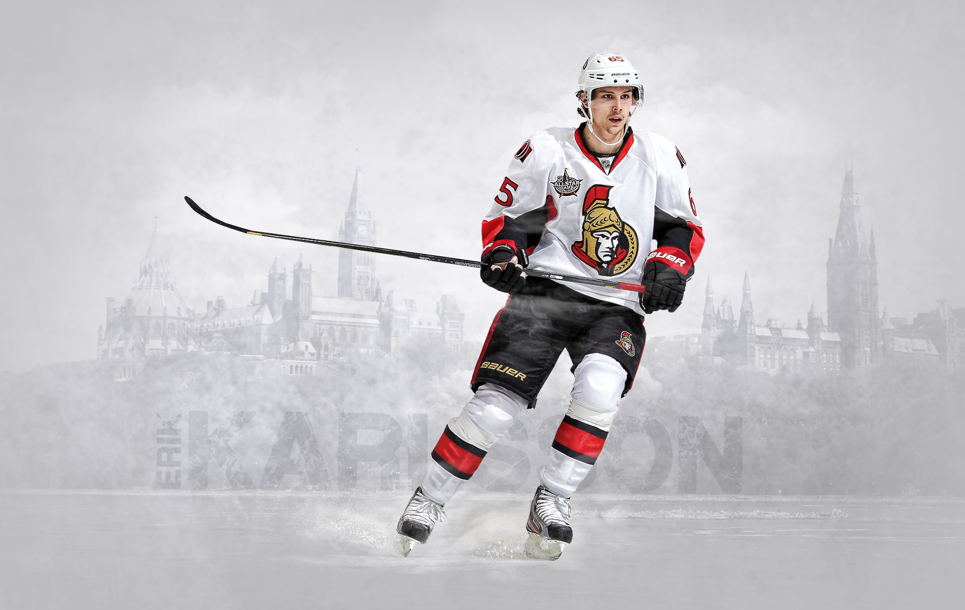 Ottawa Erik Karlsson wallpapers and images   wallpapers pictures 1900x1200