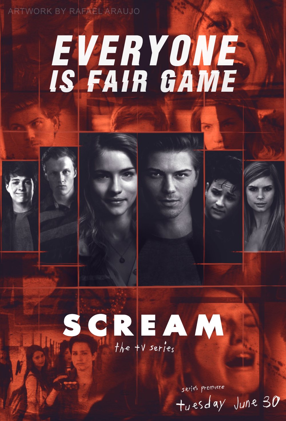 scream tv series wallpaper