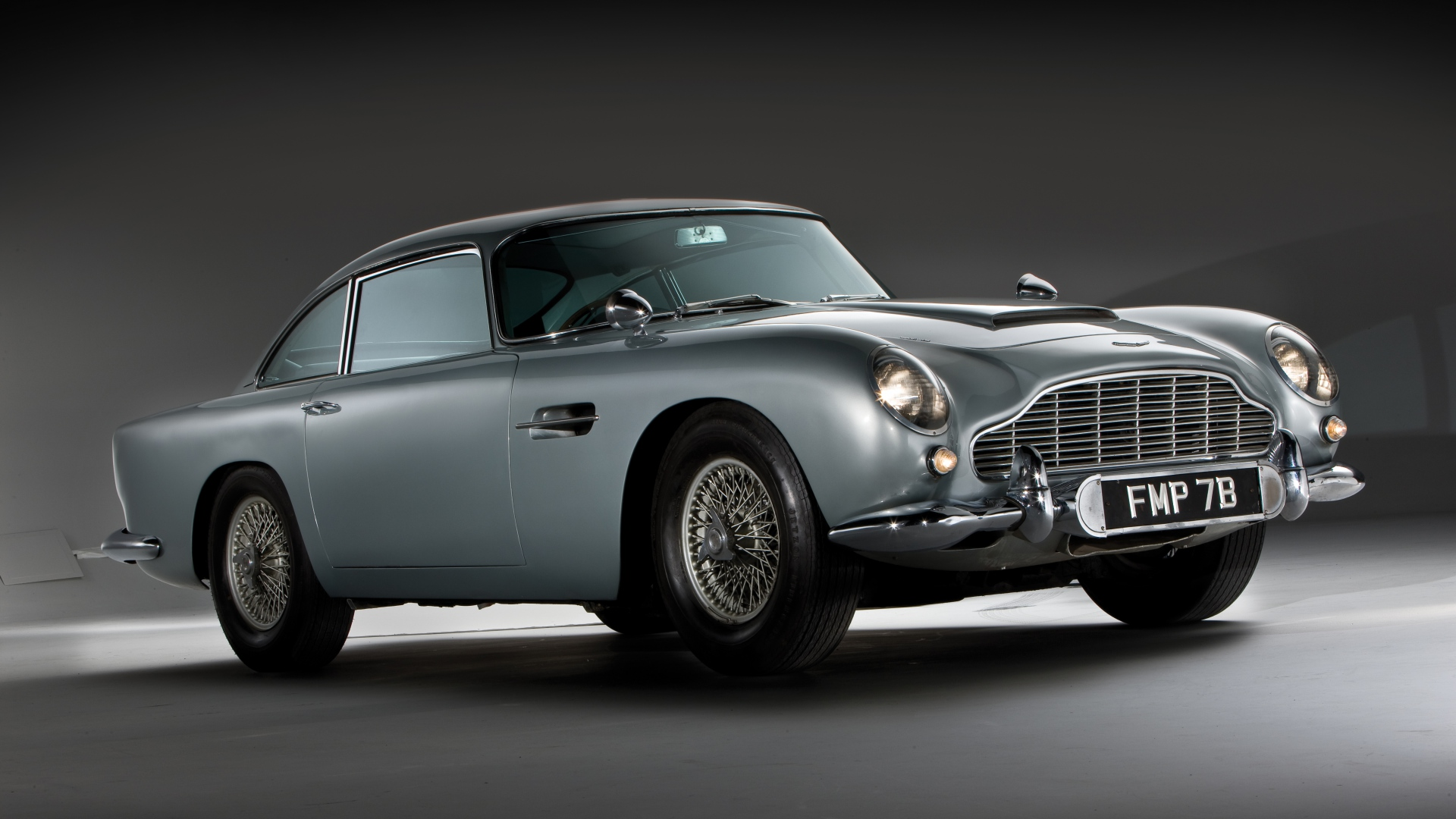 Aston Martin DB5 1964 Old Model Vintage Car Wallpaper Wallpapers 1920x1080