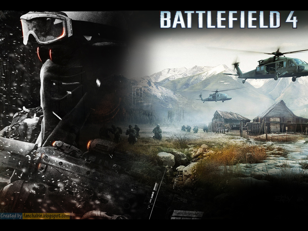 Game Battlefield 4 New Wallpapers Best Wallpaper 1024x768