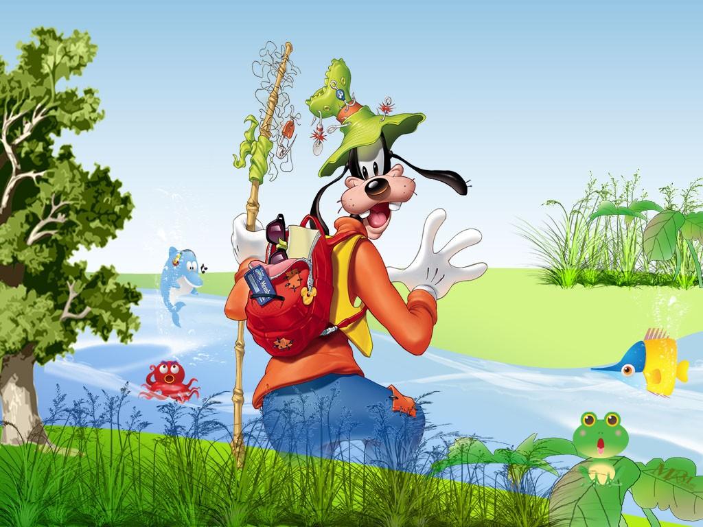 Goofy Wallpapers   Cartoon Wallpapers 1024x768