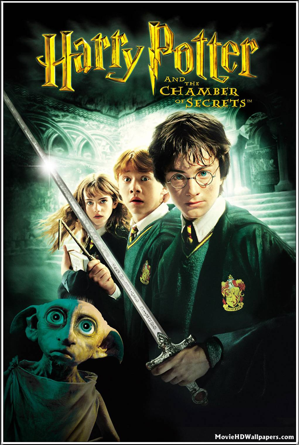 Harry Potter and the Chamber of Secrets 2002 Movie HD Wallpapers 1021x1519