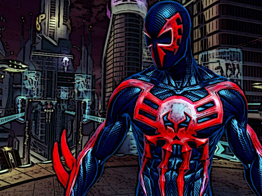 Free download Spider Man 2099 Wallpapers 1024x768 for ...