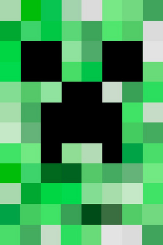 Minecraft wallpaper for Iphone Flickr   Photo Sharing 333x500