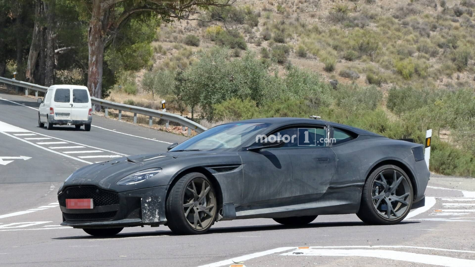 Aston Martin DBS Superleggera Spied Up Close [UPDATE] 1920x1080