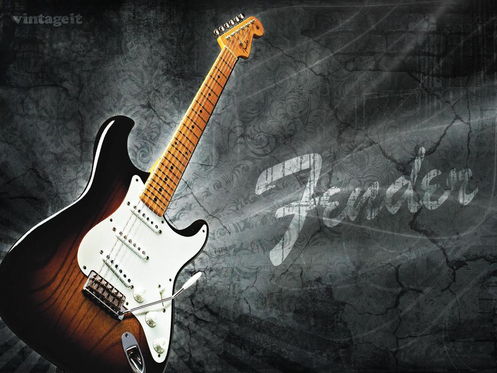 Fotos   Guitar Wallpaper Fender Stratocaster Guitar 1024x768