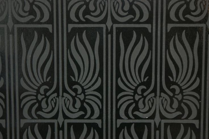 stunning vintage retro black deco handprint by sarasotalife 736x489