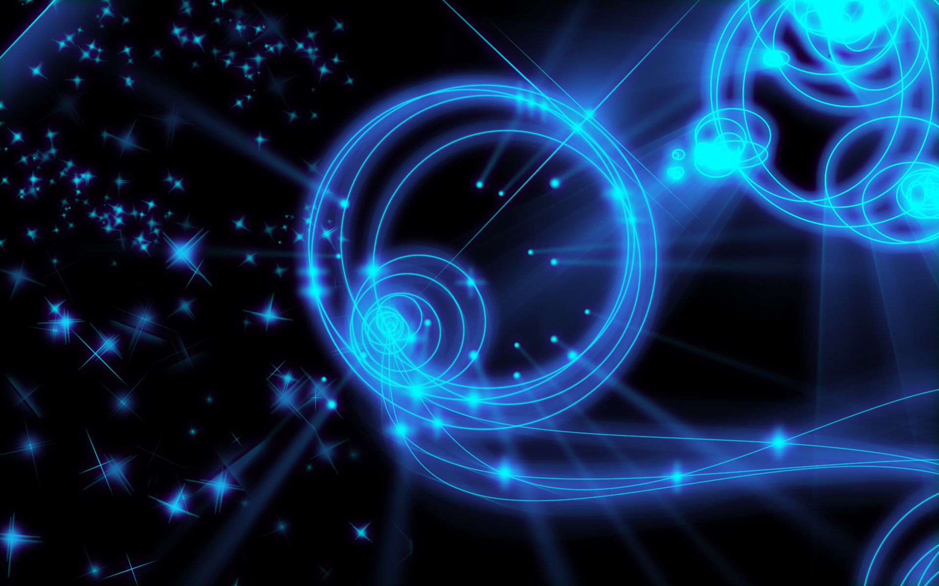 Blue Neon Wallpaper Images amp Pictures   Becuo 1920x1200