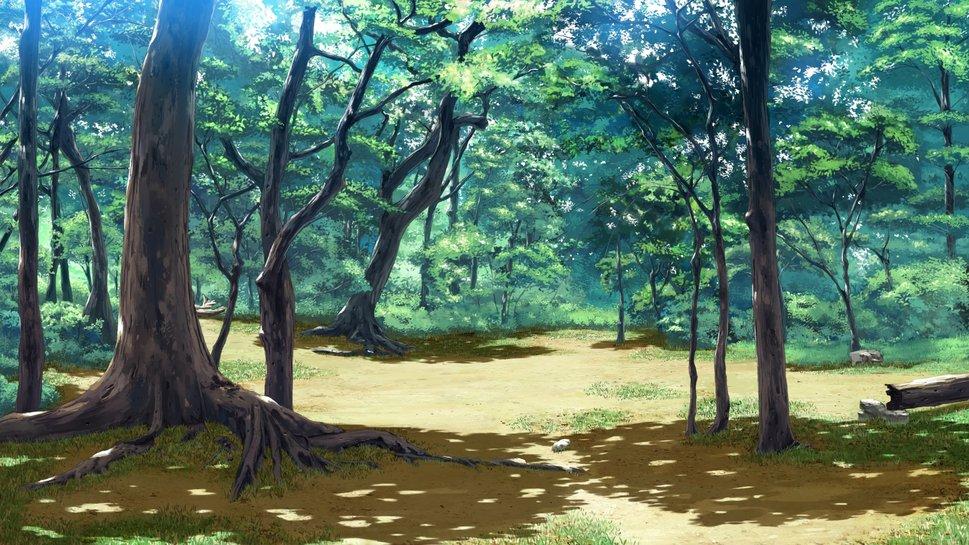 Anime Forest wallpaper   ForWallpapercom 969x545
