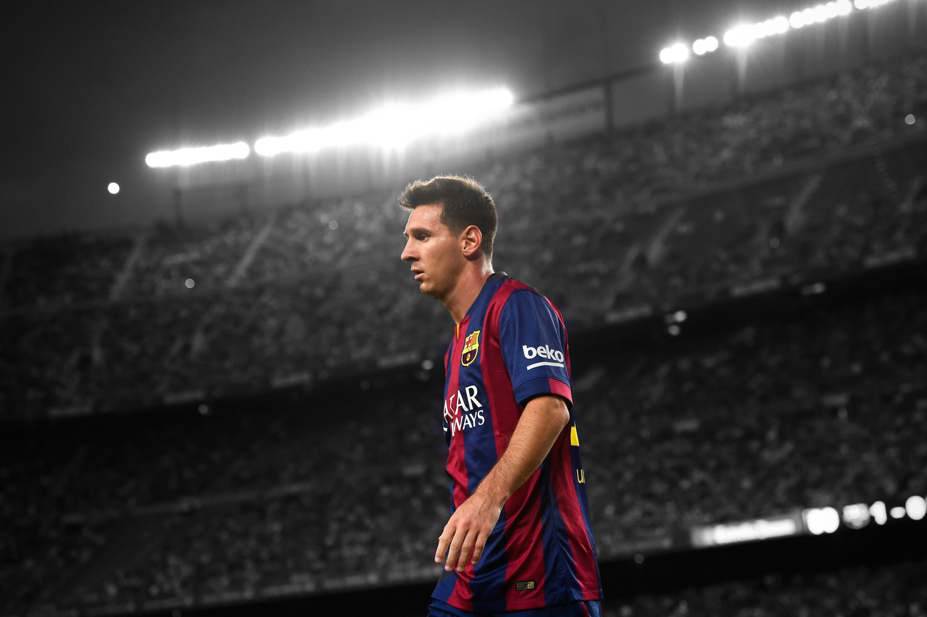 Lionel Messi Wallpapers HD download 3000x1998