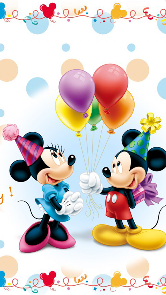 Iphone Disney Christmas Wallpaper Cute disney mickey mouse 640x1136