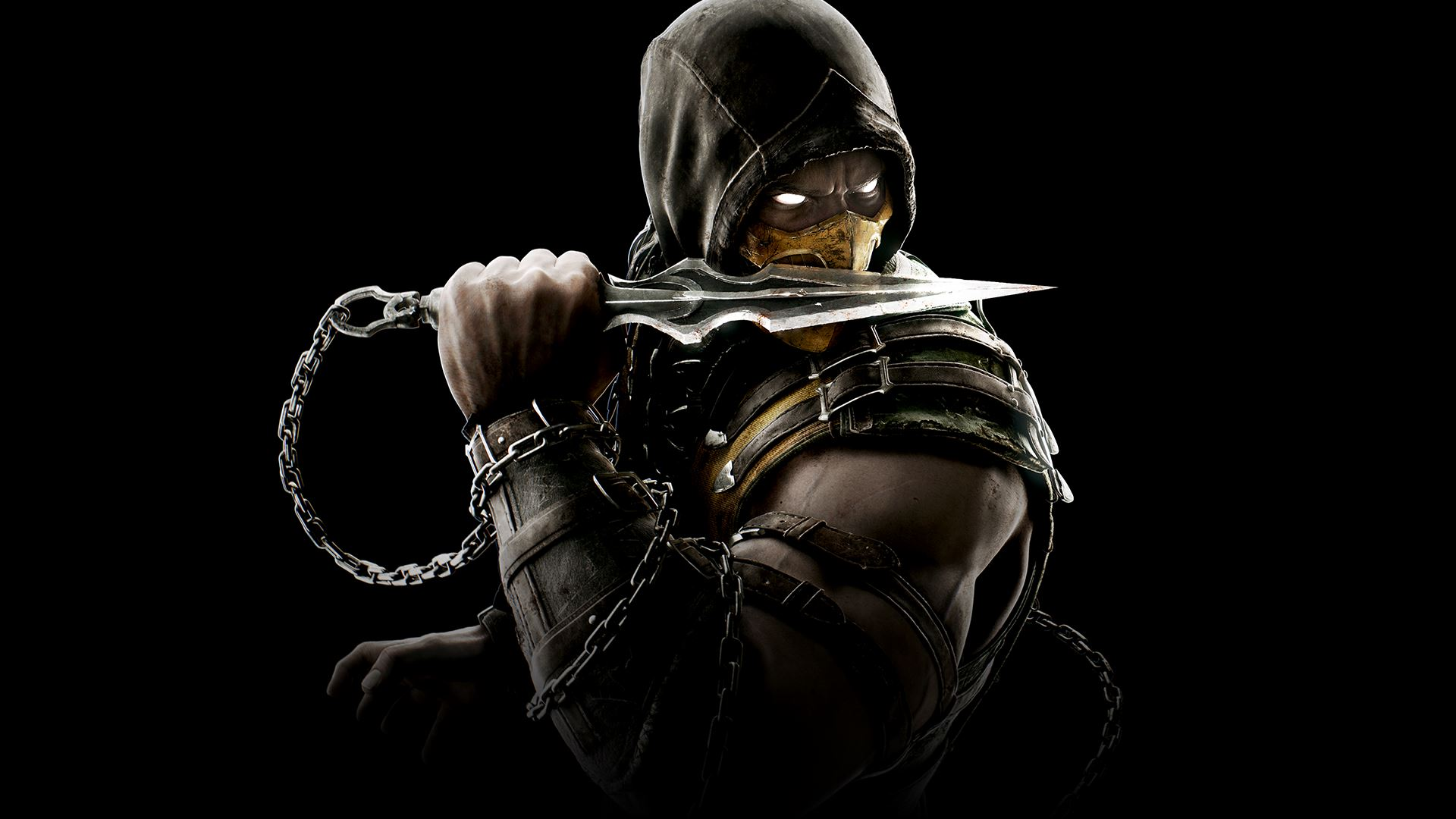 Scorpion Mortal Kombat X Wallpapers HD Wallpapers 1920x1080