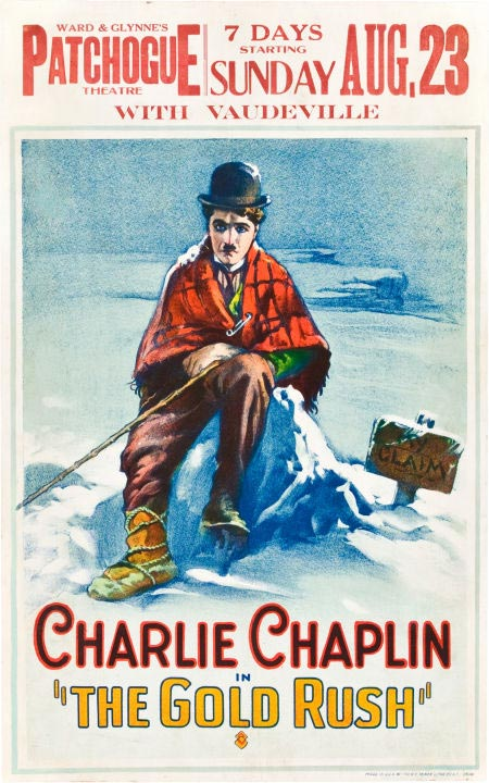 The Gold Rush Charlie Chaplins Poster 450x720