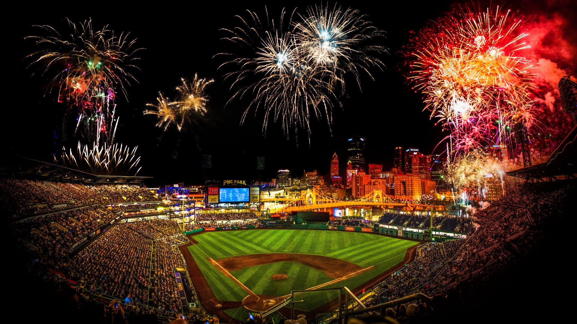 Best Baseball Stadiums MLB Ballpark Rankings Top 5 Ballparks 1920x1080